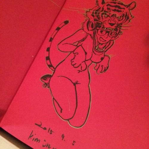 016 - Kim Jung Gi sketch dédicace