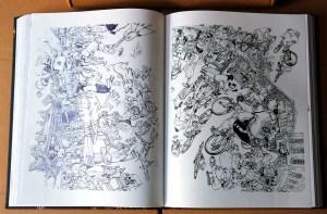 Kim Jung Gi sketchbook 2016 content 11