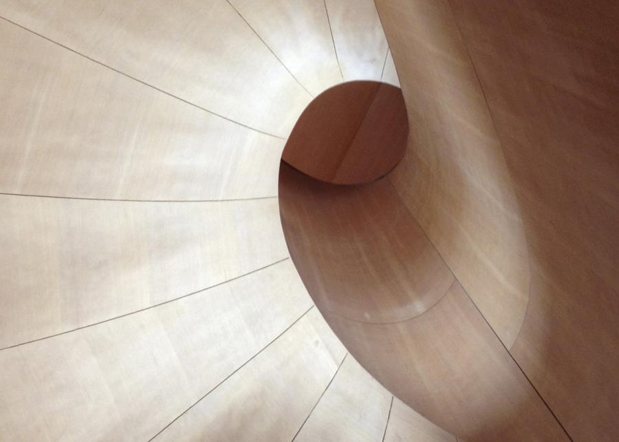 spiral staircase ago