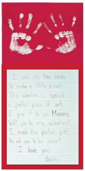 My FREE Valentines Day Handprint Poem Makes For A Great