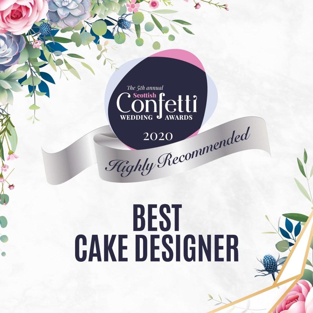 Wedding Cake Designer of the Year - Confetti Awards