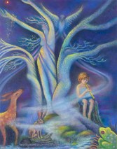 Original Pastel Painting by Kim Novak, created for the 2010 Britt Music Festival. Copyright 2014 Kim Novak. All rights reserved.