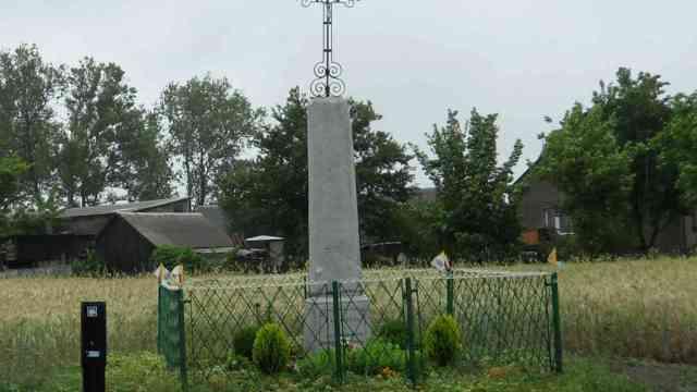 Owczarze - kapliczka w Janowie wystawiona przez drugie pokolenie Markoskich w Janowie