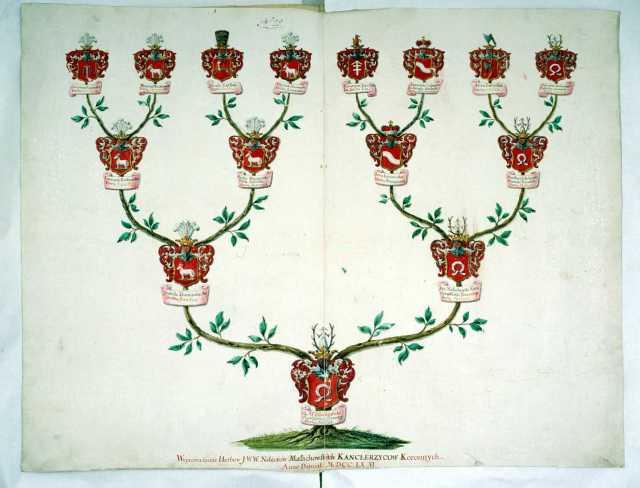 Wywód przodków Malachowskich Kanclerzyców Koronnych