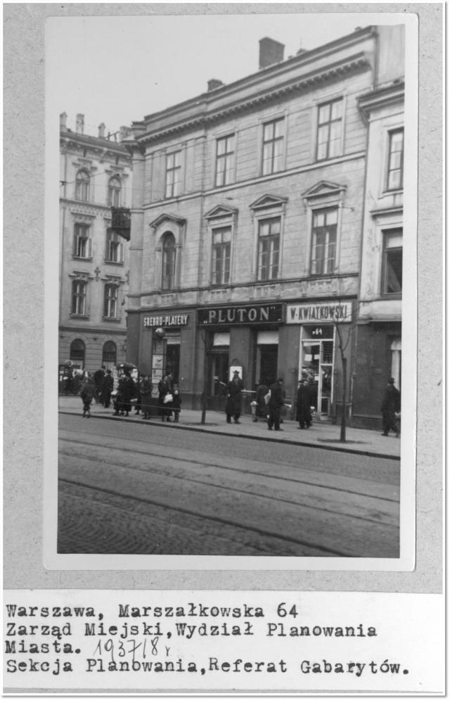 Genealogy Indexer - Marszałkowska 64