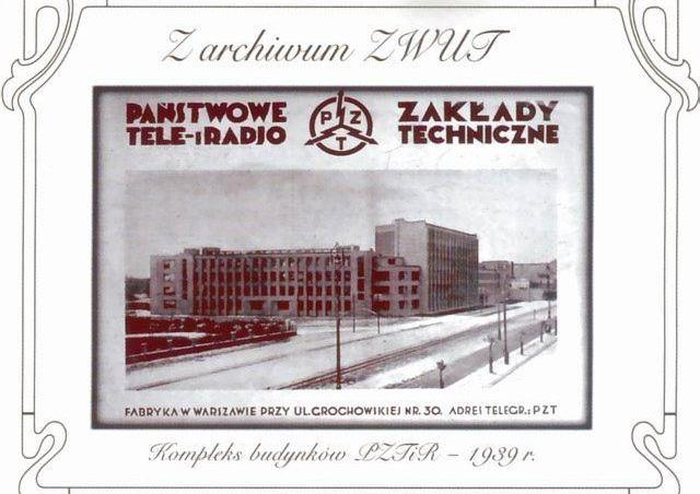 Wokół Państwowych Zakładów Tele- i Radiotechnicznych