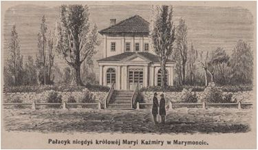 Marymontczycy Pałacyk królowej Marii Kazimiery ow