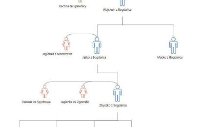 Jak zapisać drzewo genealogiczne rodziny