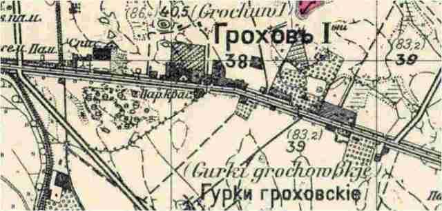 Grochów pierwszy fabryka Geberów