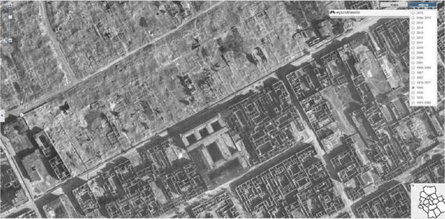 Jak szukać gdzie mieszkali przodkowie w Warszawie - granica