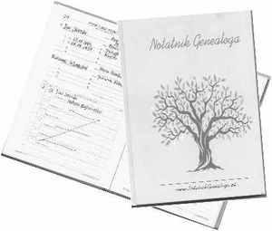 Albumy genealogiczne Notatnik Genealoga