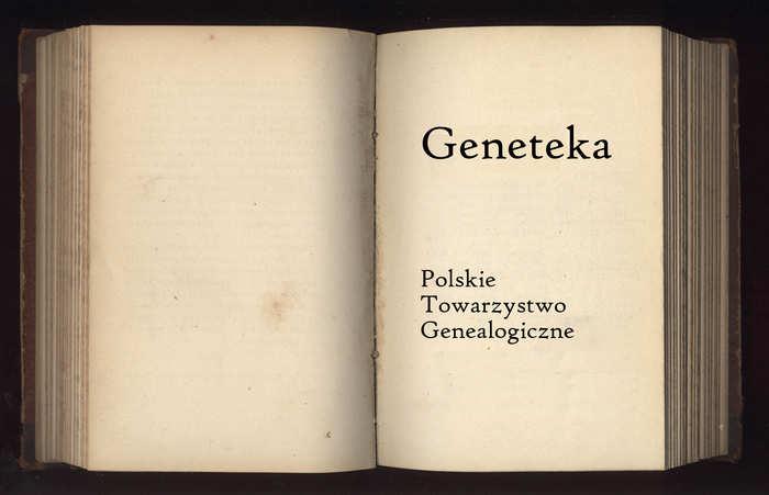 Geneteka dla początkujących genealogów