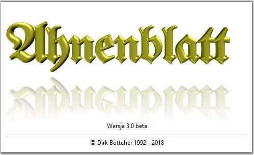 Ahnenblatt 3.0 - koniec pewnej epoki