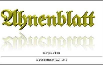 Ahnenblatt 3.0 - koniec pewnej epoki genealogii