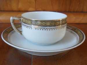 Porcelana Babci fabryka Giesche