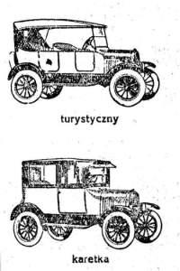 Aleksander Duma de Vajda Hunyad – Sanik samochody Ford