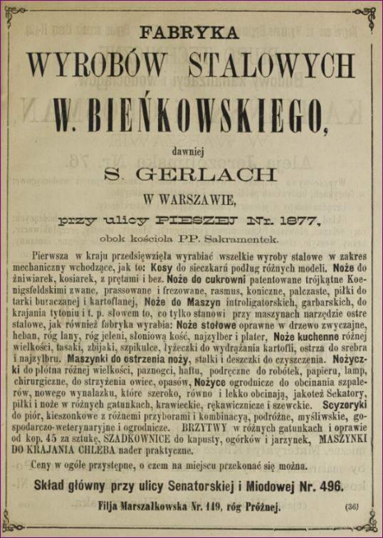 Bracia Kobylańscy dawniej S. Gerlach Bieńkowski
