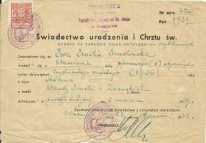 Jak zrobić drzewo genealogiczne – akt chrztu Ewa Smolińska