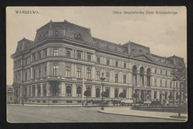 Drzewo genealogiczne rodziny Roth Pałac Kronenberga