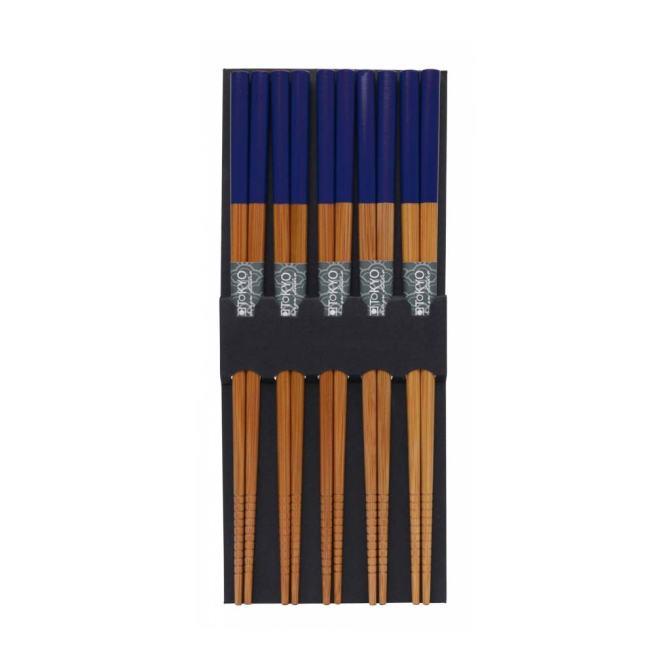Chop Sticks | Ess-Stäbchen aus Bambus - Blau