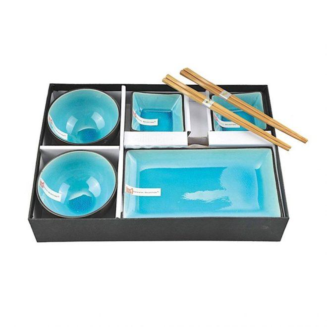 Schüsseln und Schalen mit Essstäbchen | Geschenkbox | Credits: CNB Oriental