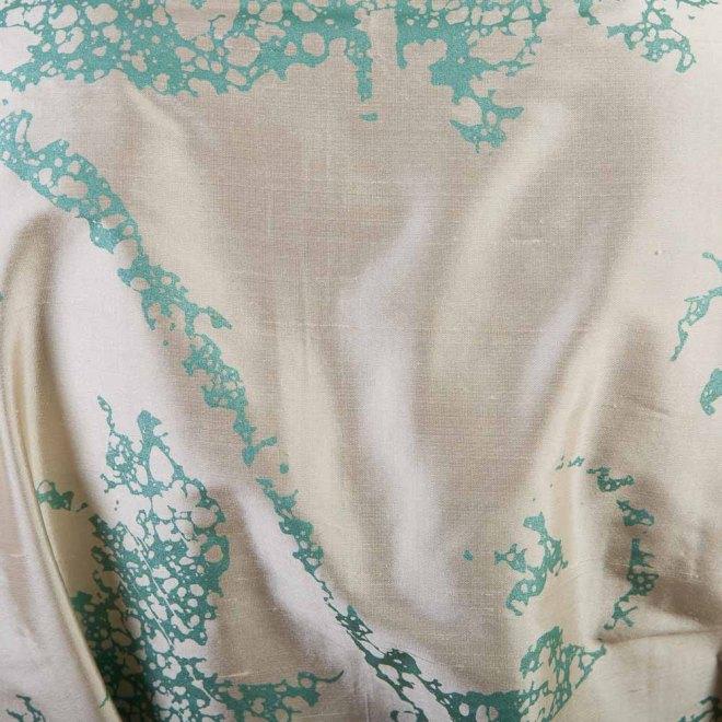 Seiden-Kimono Jade | Detailansicht | Credits: KimonoManufaktur