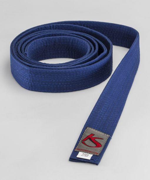 cinturón azul para artes marciales apto para competir