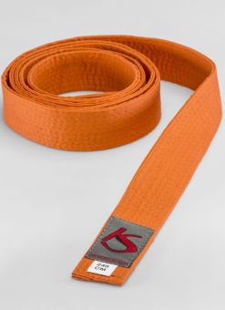 Ceinture d'arts martiaux orange adaptée à la concurrence
