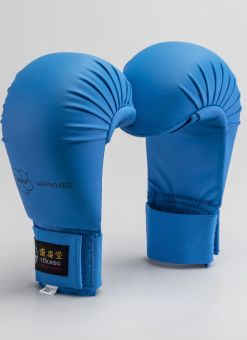 KARATE GLOVES, TOKAIDO, WKF APPROVED, BLUE 1