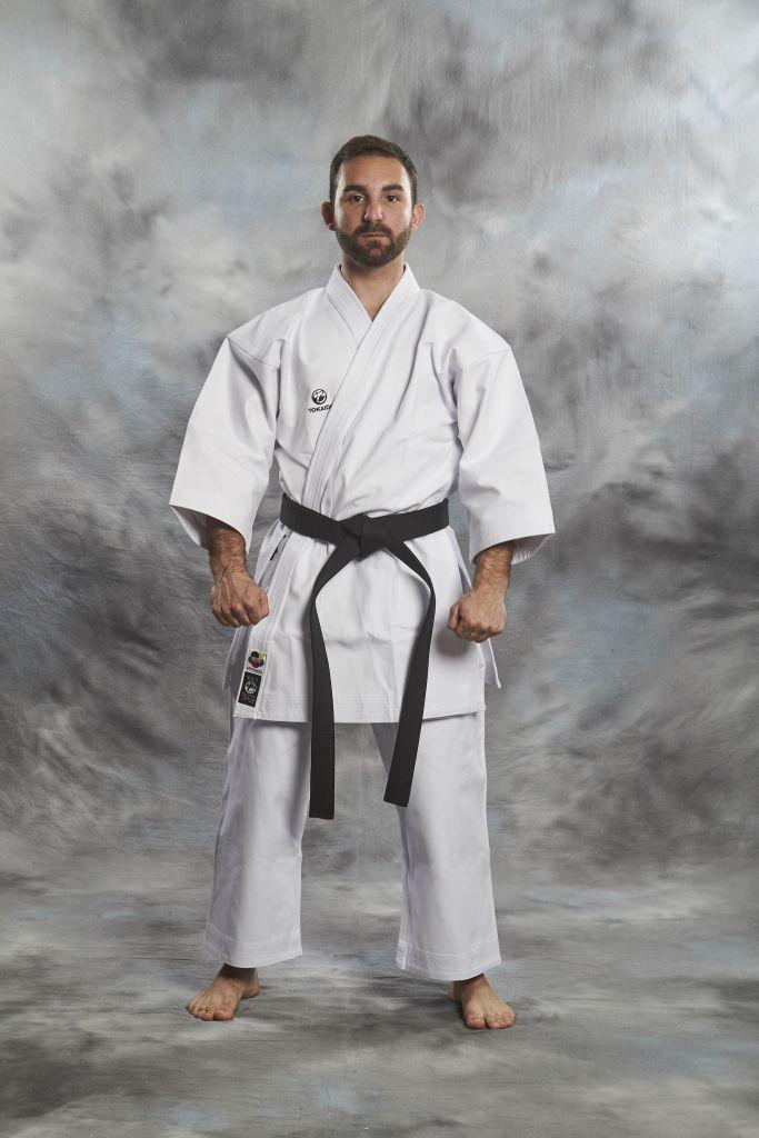 karate gi kata master wkf 12oz white