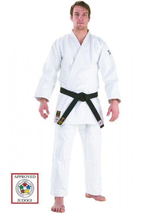 judo gi hiku shiai II IJF blanco 750 en 2 partes