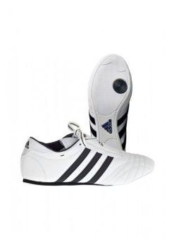 zapatillas de taekwondo Adidas champion - Blancas