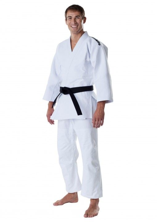Judo GI Moskito plus blanc 950 en deux morceaux