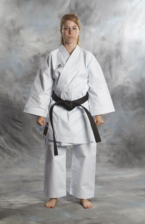 pack kata tokaido wkf (karate gi kata master pro wkf 14oz blanco)