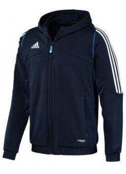 sudadera con capucha adidas t12 azul para hombre