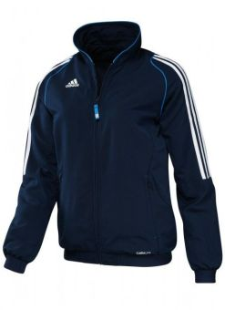 chaqueta deportiva t12 adidas azul para mujer