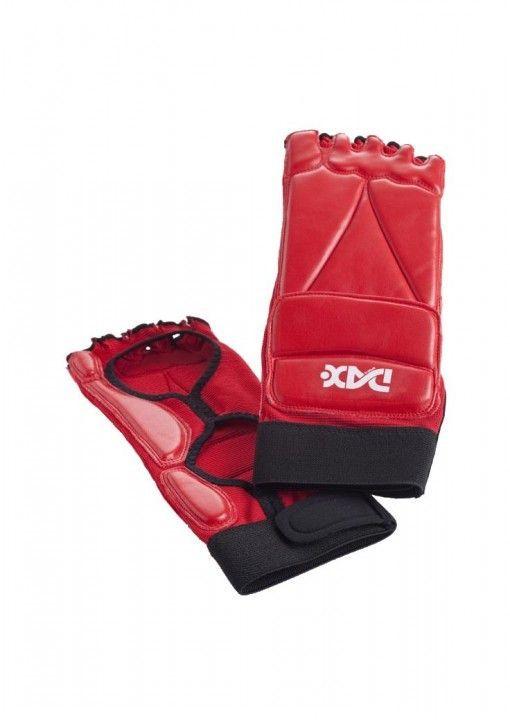protector para pie taekwondo - rojo