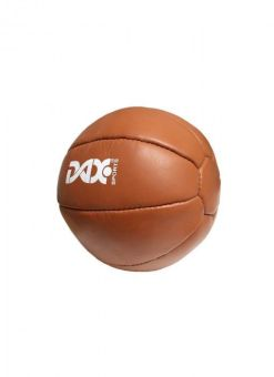 balón medicinal de cuero DAX de 2kg marron