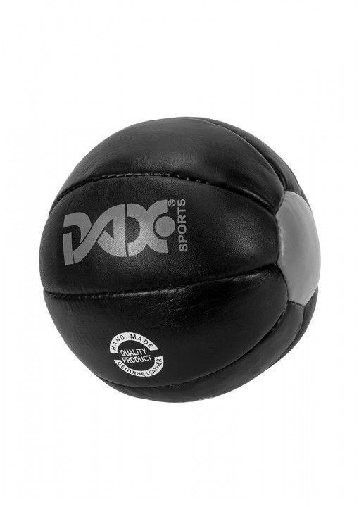 Balón medicinal cuero negro DAX de 5 kg