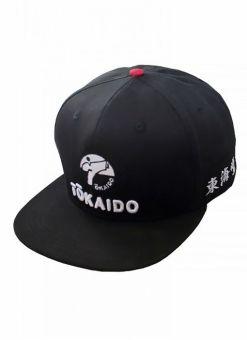 gorra tokaido negra y roja tala única