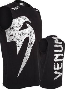 Camiseta Venum Giant Negra Sin Mangas