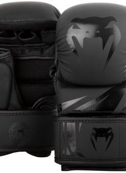 Guantillas de MMA Venum Challenger 3.0 Sparring Negro Matte