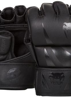 Guantillas de MMA Venum Challenger Negro Matte