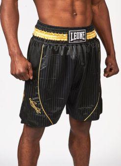 Pantalon Boxeo Leone Premium Negro