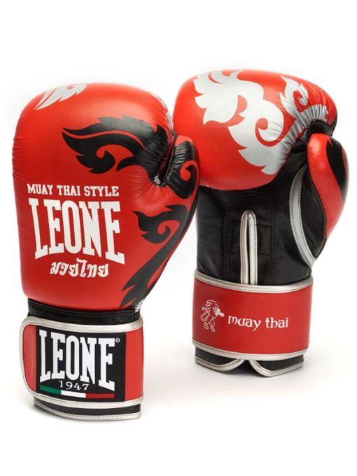 Guantes de Boxeo Muay Thai GEL Rojo