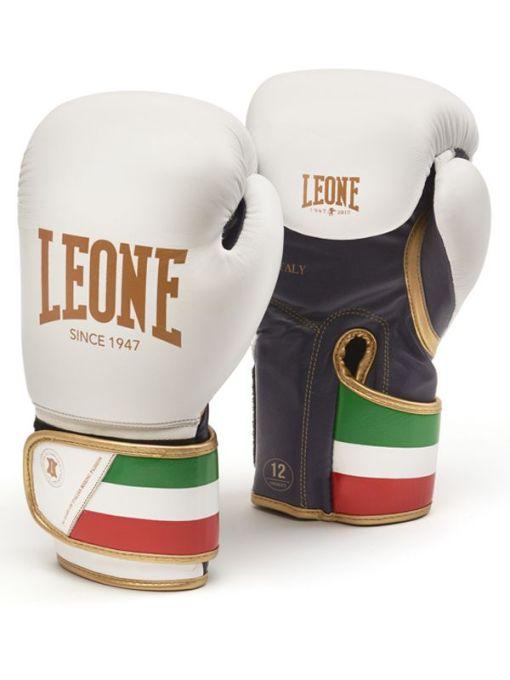 Guantes de Boxeo Leone Italy 47 Blanco