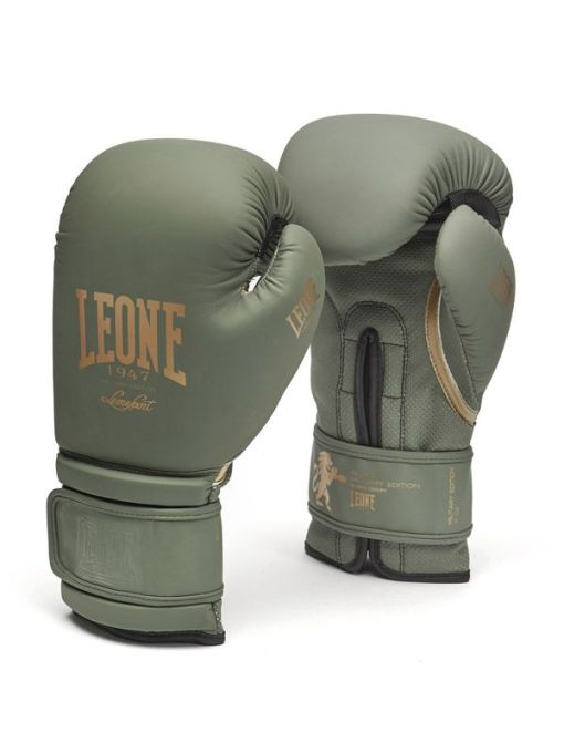 Guantes de Boxeo Leone 1947 Verde Militar
