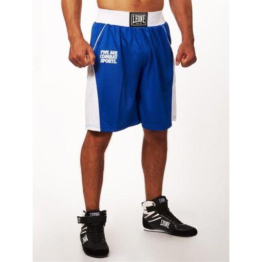 Pantalon Boxeo Leone Corner Azul