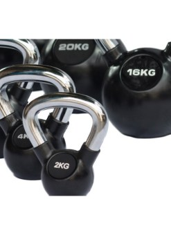 kettlebell cromados