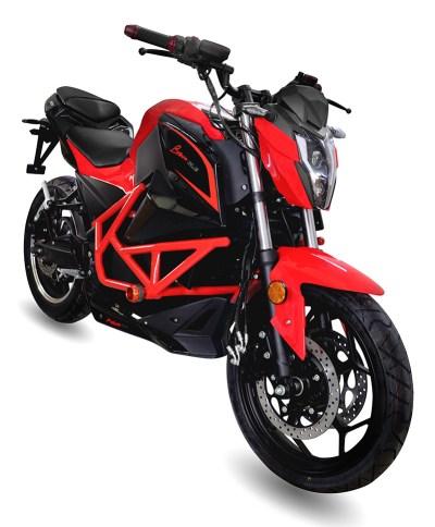 Moto Eléctrica ebroh BRAVO-GLE Rojo